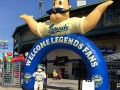 Lexington Legends Inflatable Arch
