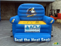 Myrtle Beach Pelicans Inflatable Couch