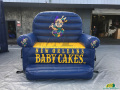 New Orleans Baby Cakes Inflatable Couch
