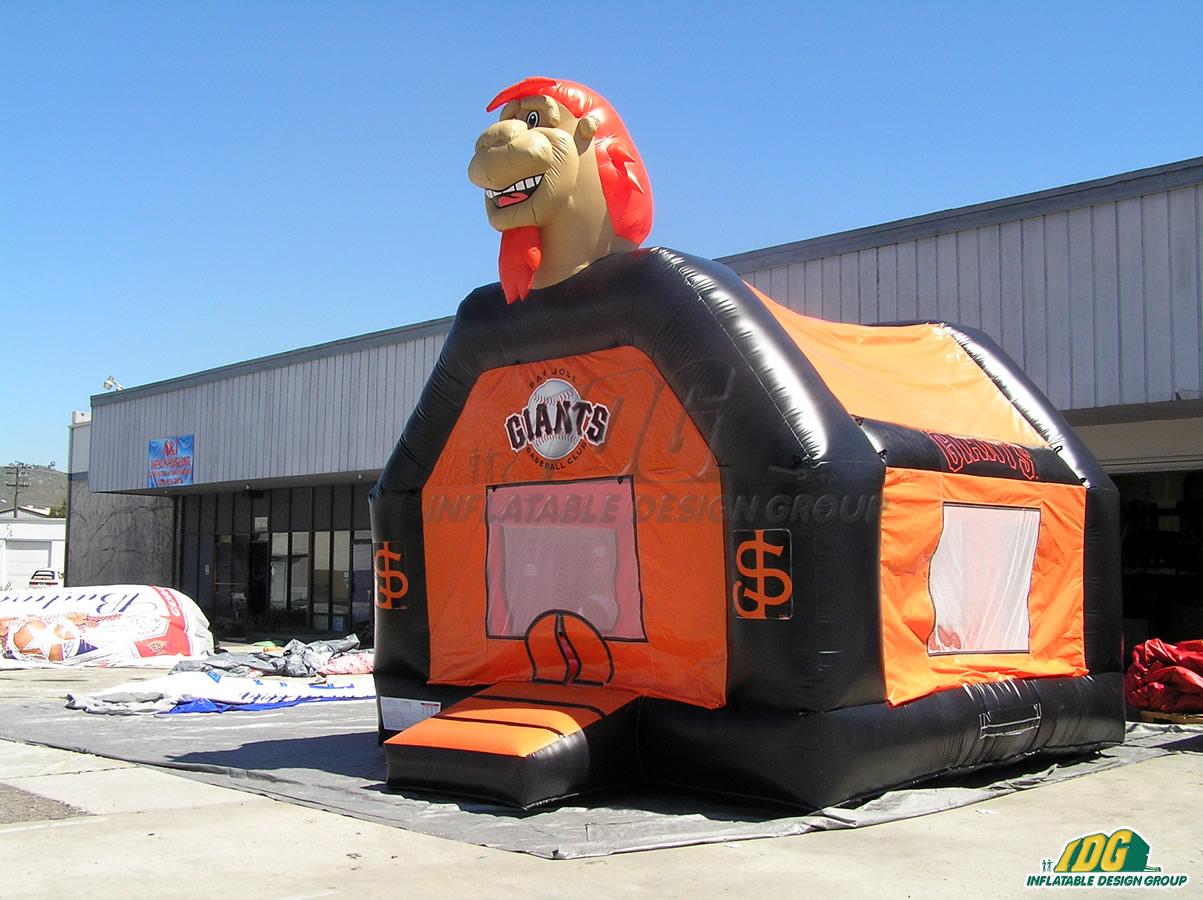 San Jose Giants Custom Inflatable Bouncer