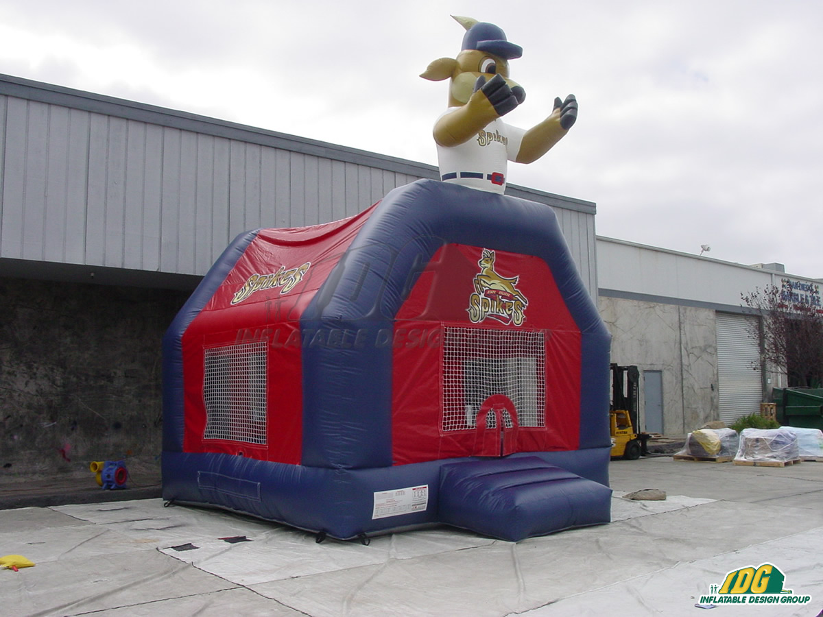 State College Spikes Custom Inflatable Bouncer