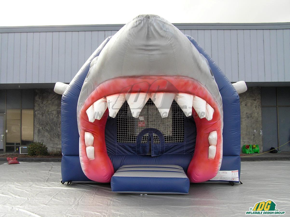 Wilmington Sharks Custom Inflatable Bouncer