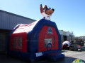 Tennessee Smokies Custom Inflatable Bouncer