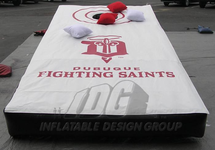 Dubuque Fighting Saints Corn hole Game
