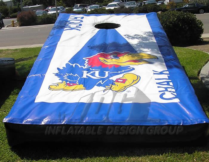 University of Kansas Cornhole Game