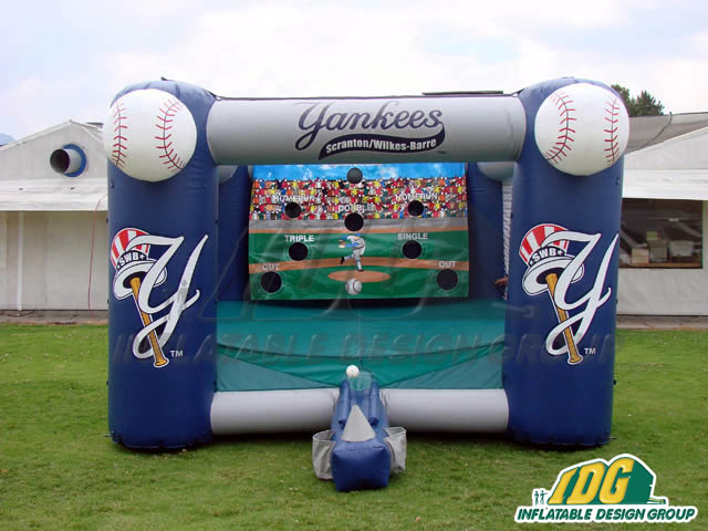 Scranton Wilkes-Barre Yankees Inflatable Tee Ball