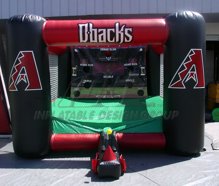 Arizona Diamondbacks Inflatable Tee Ball