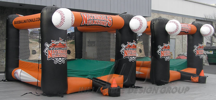 Nationals Fanzone Inflatable Tee Ball