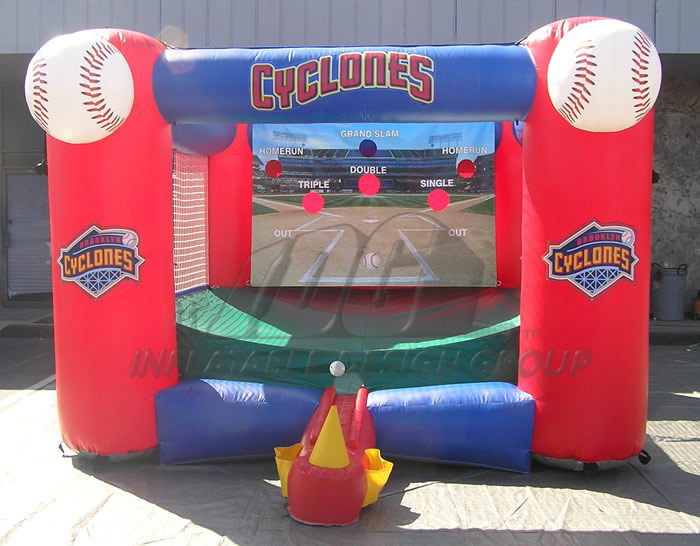 Brooklyn Cyclones Inflatable Tee Ball