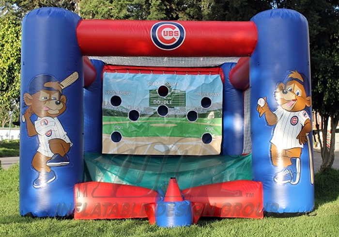 Chicago Cubs Inflatable Tee Ball