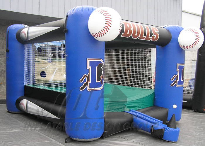 Durham Bulls Inflatable Tee Ball