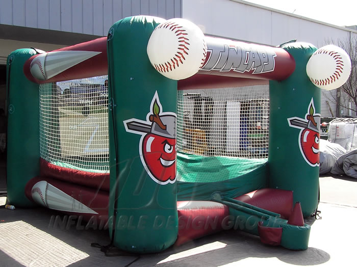 Fort Wayne Tincaps Inflatable Tee Ball