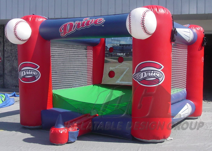 Greenville Drive Inflatable Tee Ball