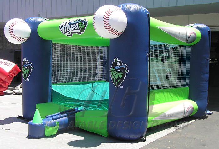 Hillsboro Hops Inflatable Tee Ball