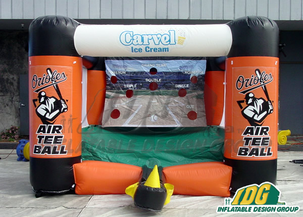 Baltimore Orioles Inflatable Tee Ball