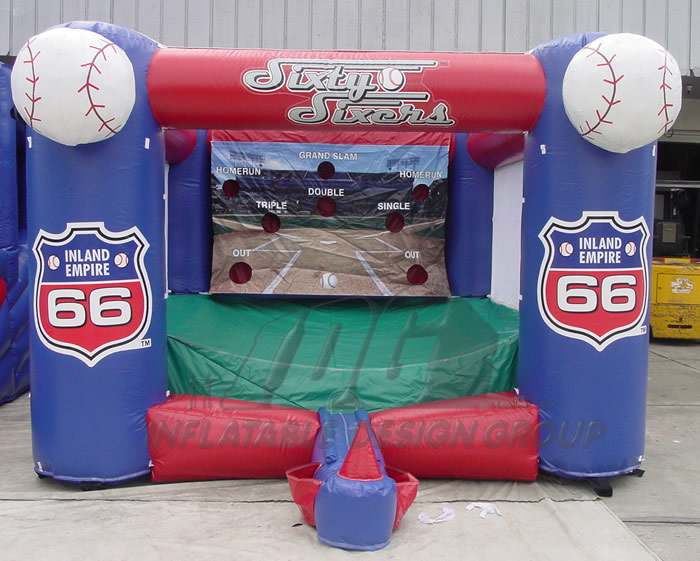 Inland Empire 66er's Inflatable Tee Ball