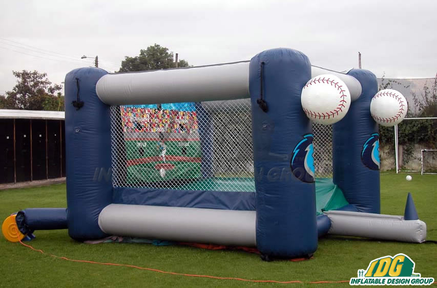 Rockford Riverhawks Inflatable Tee Ball