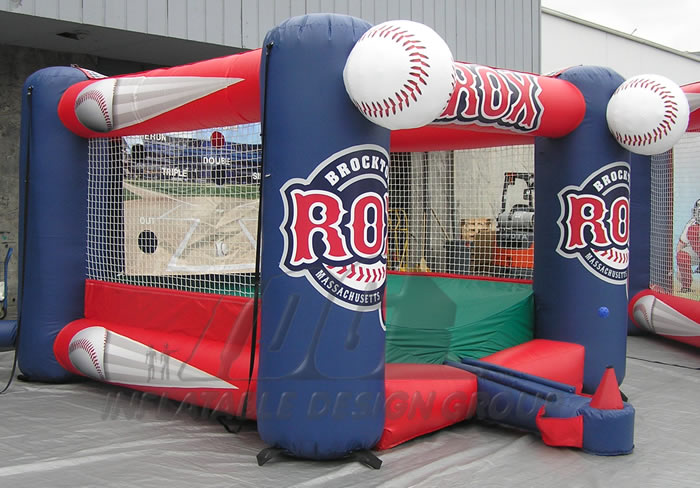 Brockton Rox Inflatable Tee Ball