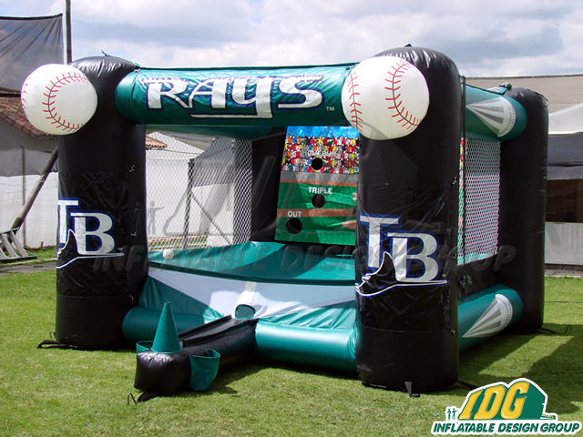 Tampa Bay Rays Inflatable Tee Ball