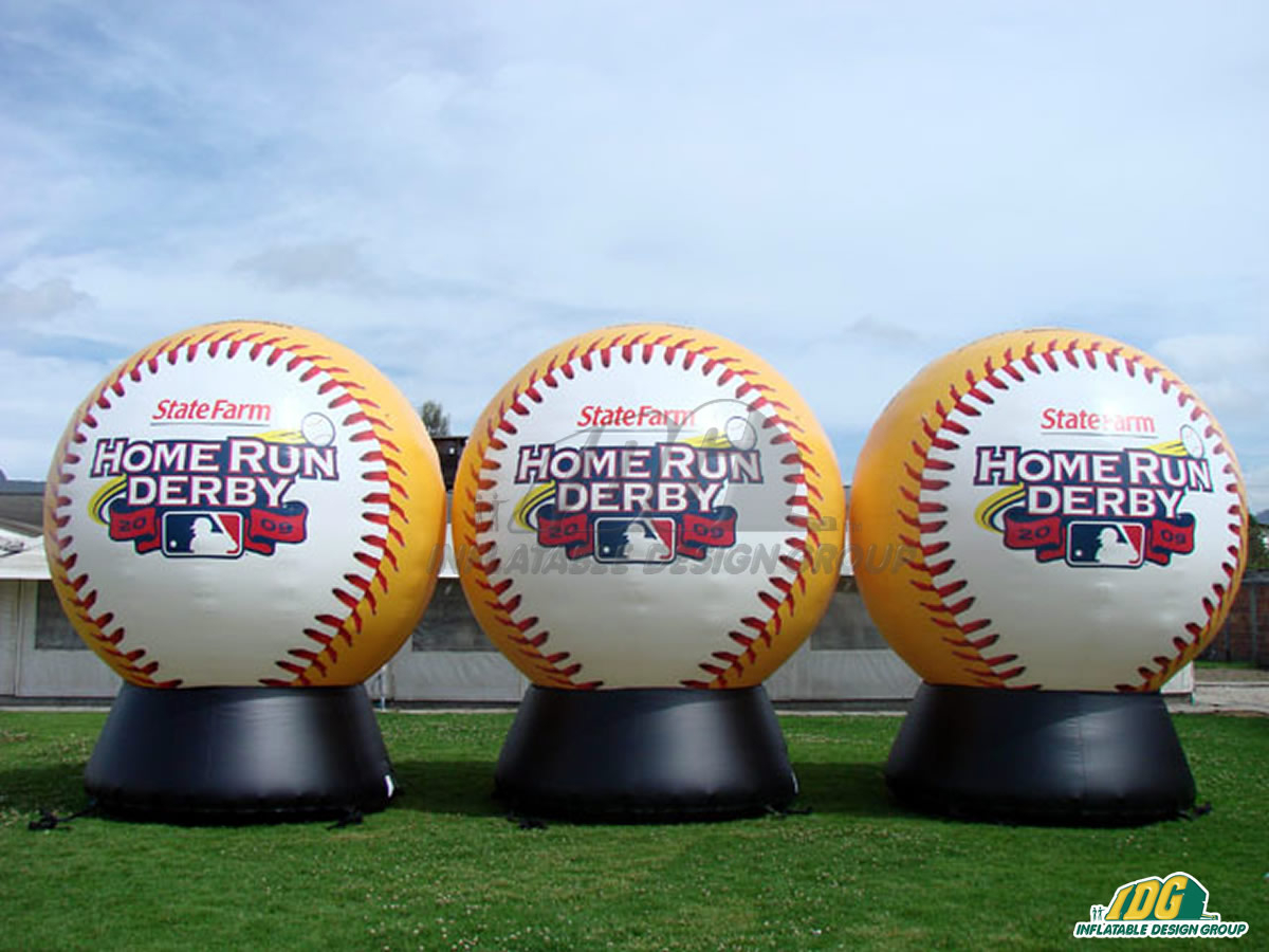2009 Home Run Derby Inflatable Baseballs