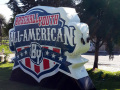 Baseball Youth All American Inflatable Logo Block