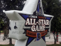 Durham Triple A All Star Game Inflatable Logo Block