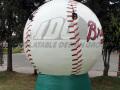 Rome Braves Inflatable Baseball