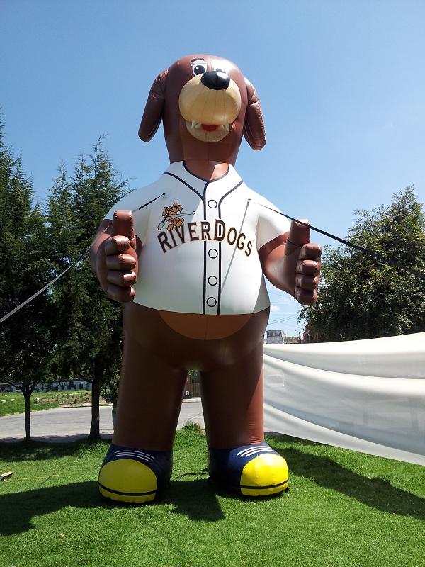 Charleston Riverdogs Mascot