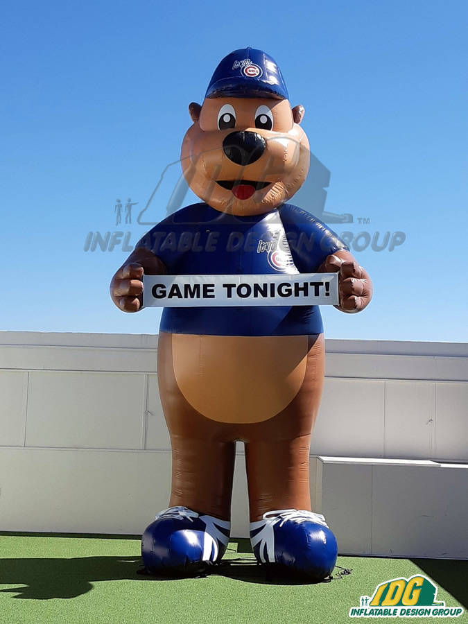 Iowa Cubs Inflatable Mascot