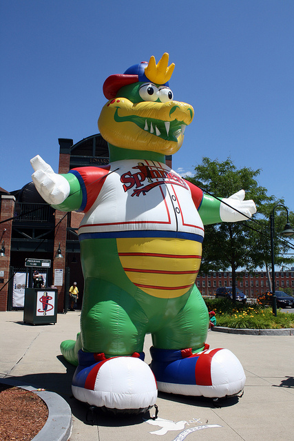 Lowell Spinners Mascot