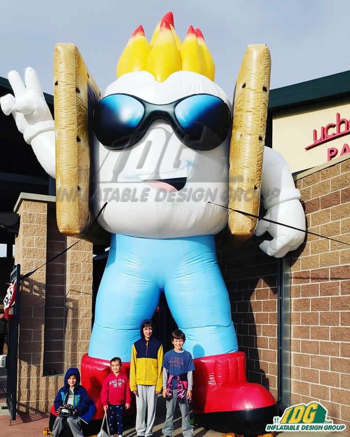Rocky Mountain Vibes Inflatable Mascot