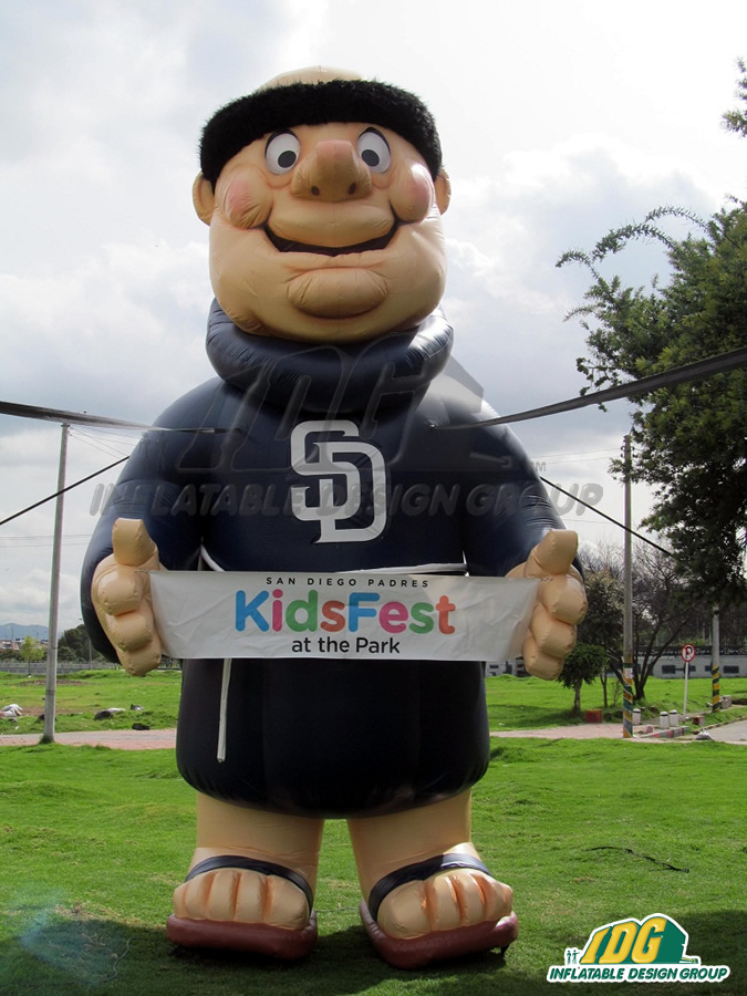 San-Diego-Padres-Custom-Inflatable-Mascot