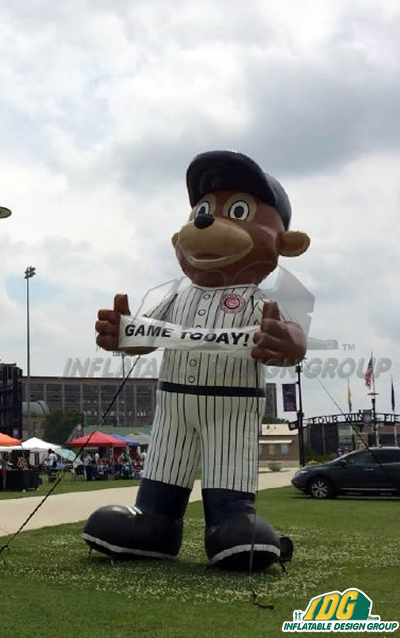 South Bend Cubs Inflatable Mascot