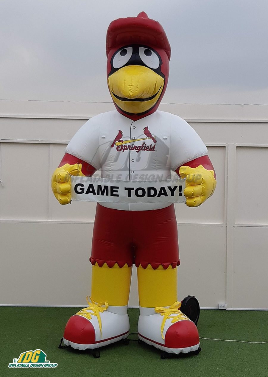 Springfield Cardinals Inflatable Mascot
