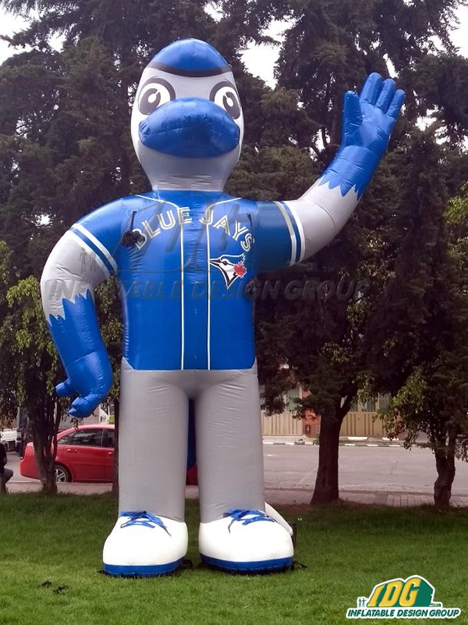 Toronto-Blue-Jays-Custom-Inflatable-Mascot-1