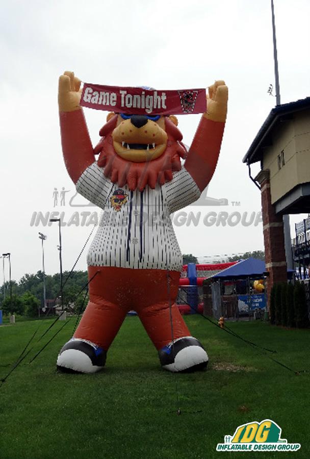 Washington Wild Things Inflatable Mascot