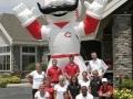 Cinncinatti Reds Mascot