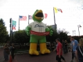 Columbus Clippers Mascot