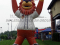 Washington Wild Things Inflatable Mascot