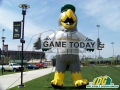 bird mascot Inflatable