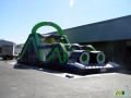 Hillsboro Hops Inflatable Obstacle Slide