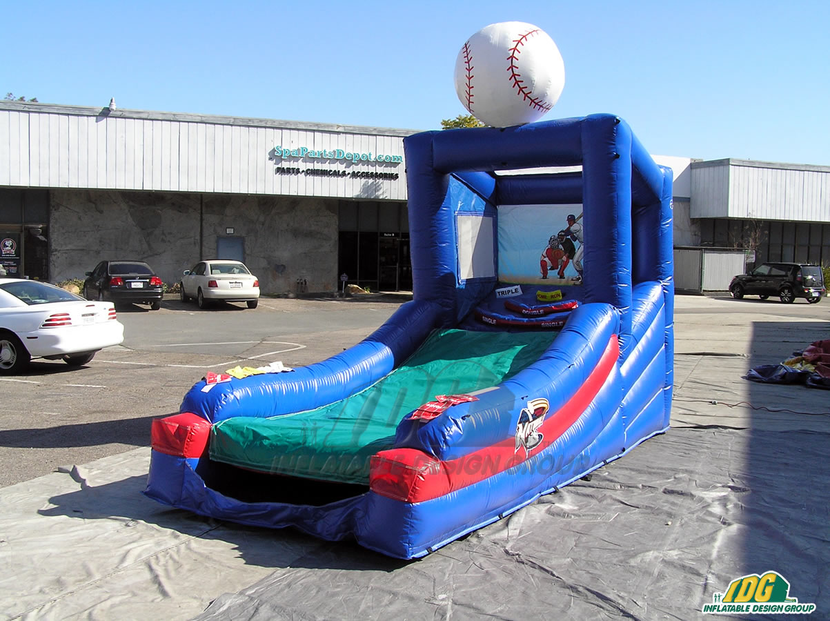 NWA Naturals Inflatable Skee Ball