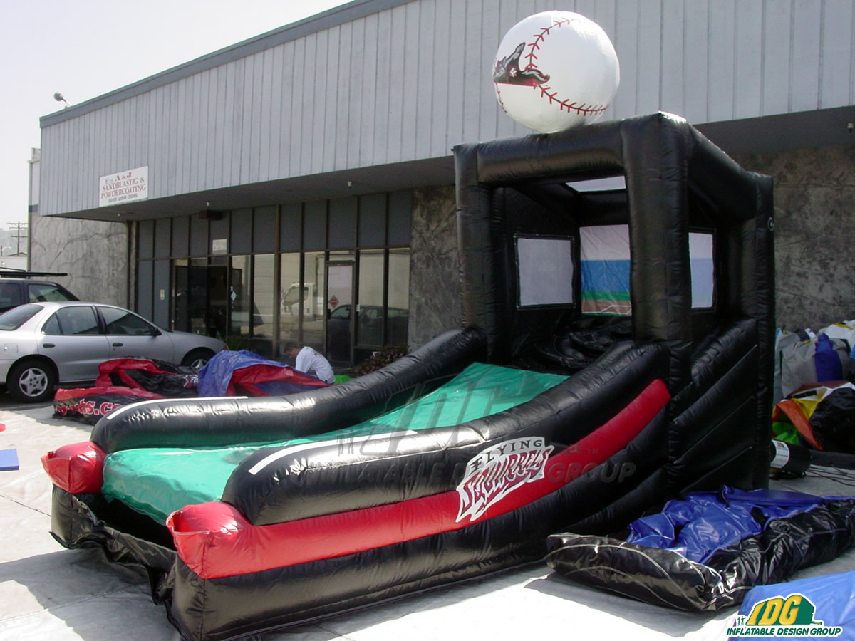 Richmond Flying Squirrels Inflatable Skee Ball