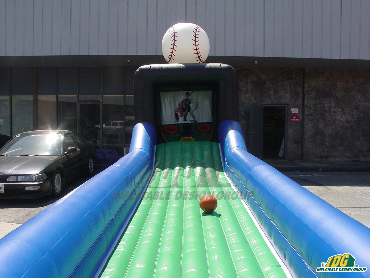Trenton Thunder Inflatable Skee Ball