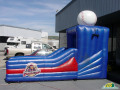 Williamsport Crosscutters Inflatable Skee Ball