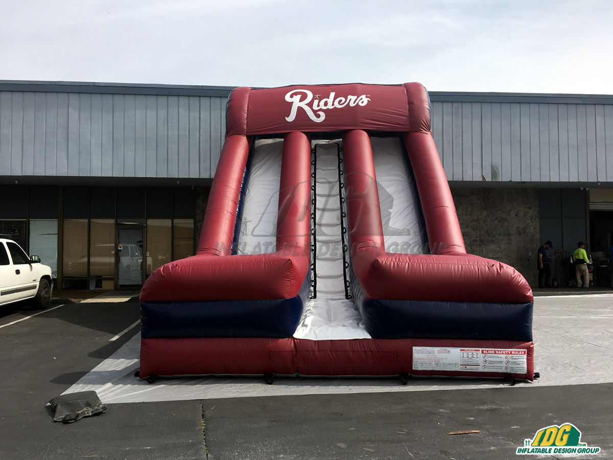 Frisco Roughriders Inflatable Baseball Slide