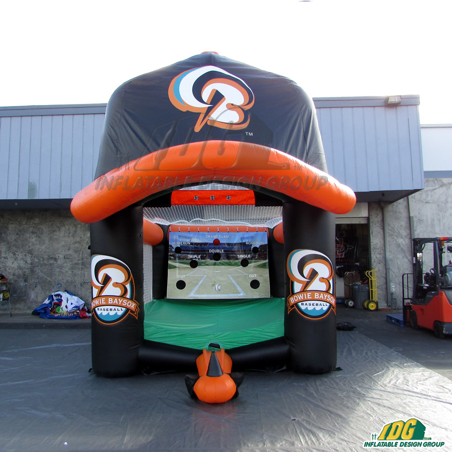 Bowie Baysox Inflatable Tee Ball With Cap