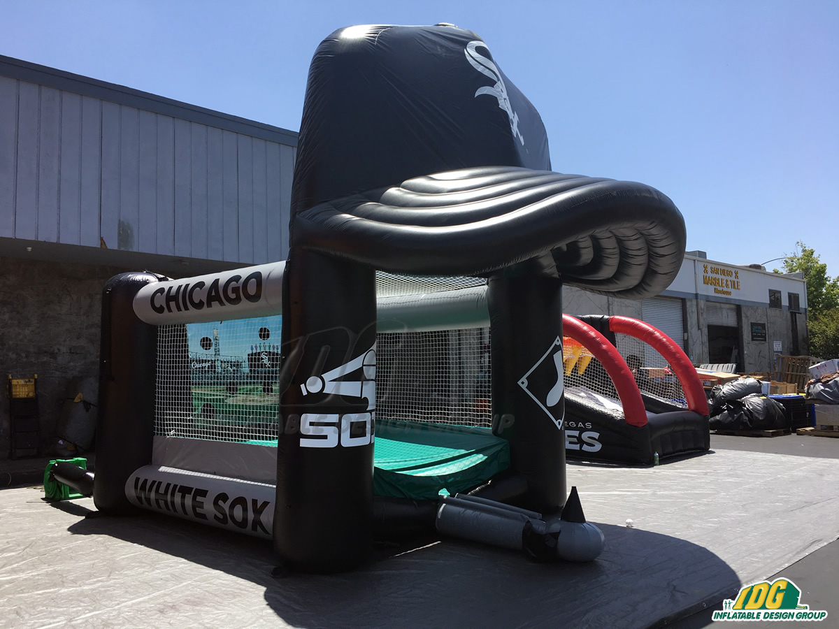 Chicago White Sox Inflatable Tee Ball With Cap