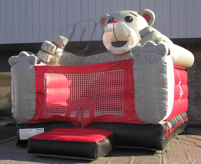 Houston Rockets Custom bounce House