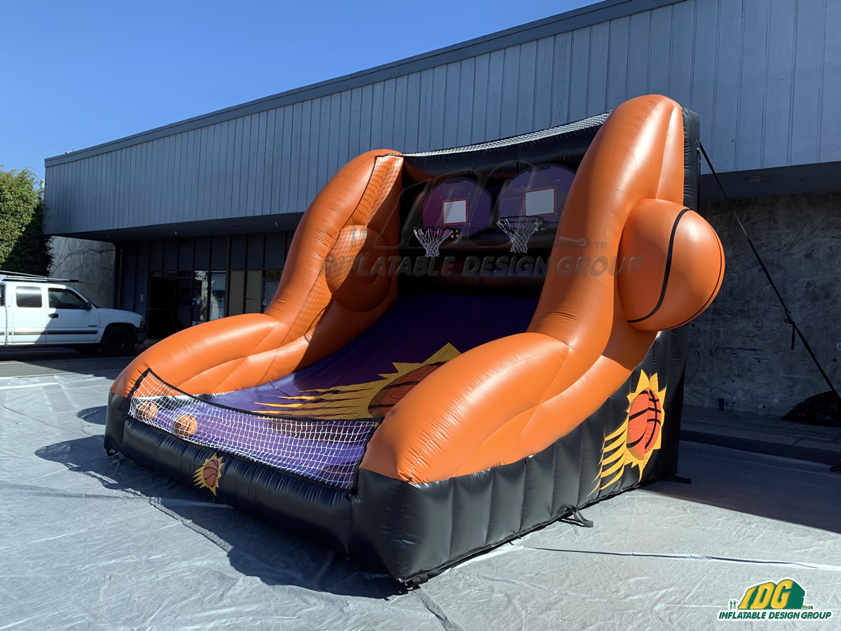 Phoenix Suns Inflatable Free Throw Contest